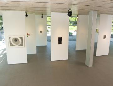 4 Alien, 2011, Blick in die Ausstellung