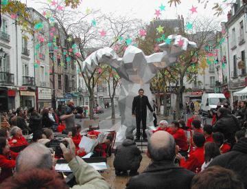 1 Xavier Veilhan: Le Monstre, 2004