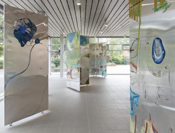 9 Wolfgang Betke: se faire voyant - Ausstellungsansicht