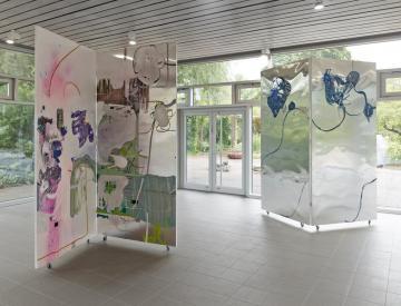4 Wolfgang Betke: se faire voyant - Ausstellungsansicht