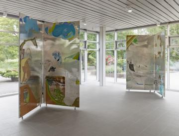 15 Wolfgang Betke: se faire voyant - Ausstellungsansicht