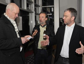 13 v.l.n.r.: Ralf Lehmann, Frank Nitsche und Gerrit Gohlke