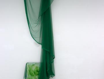 1 Laborausstellung in Weissensee: Installation von Valeska Rein