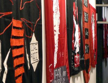 Learning Flags, 2011 (Detail)