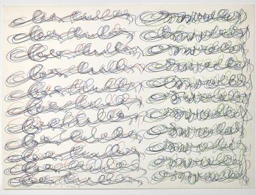7 Oswald Oberhuber, Untitled, 1962/63