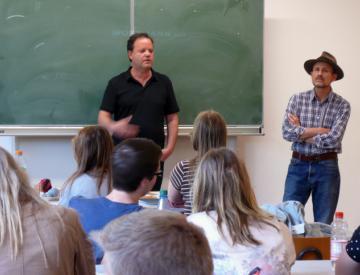 17 Clegg & Guttmann im Goethe-Gymnasium in Pritzwalk