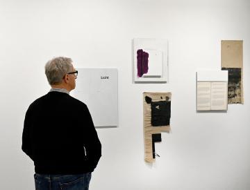 10 Heinrich Dunst, Untitled, 2014 (Installationsansicht)