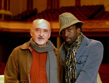 11 Thomas Kessler mit mit Saul Williams