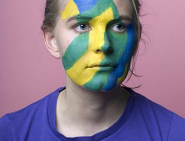 2 Ann Richter: Bill und Vasarely in deinem Gesicht II