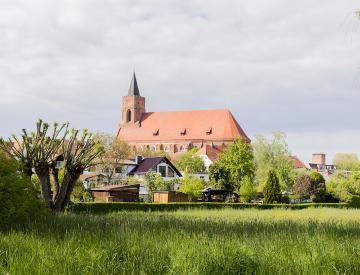 6 Beeskow im Landkreis Oder-Spree, einer der Projektorte