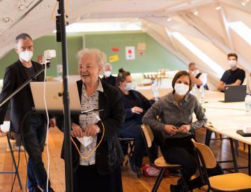 14 Neue Auftraggeber-Bürgertreffen in Beeskow während der Pandemie