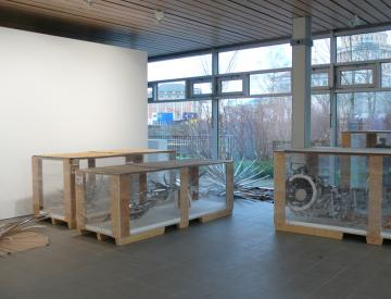 """12 Ausstellungsaufbau """"Tepidarium"""""""