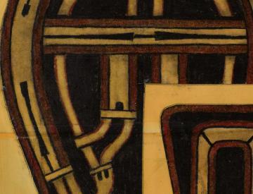 1 Hirschvogel, Biel-Bienne (Nr.3), 2002 (Detail)
