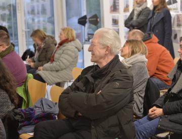 6 Werner Ruhnke während der Diskussion im BKV