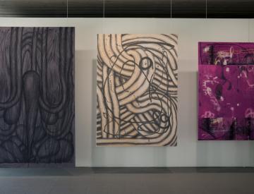 5 Manuel Kirsch, Ausstellungsansicht