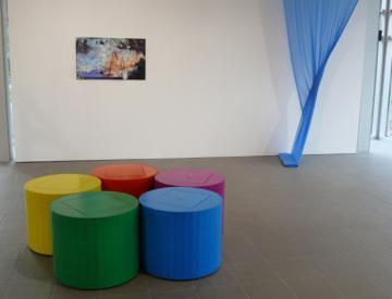 5 expo - Blick in die Ausstellung