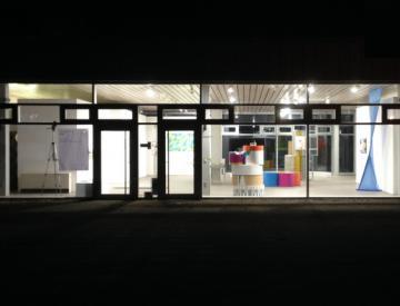 8 expo im Ausstellungspavillon auf der Freundschaftsinsel