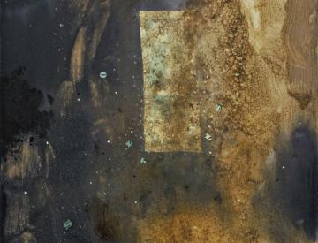 5 Monika Baer, Ten Dollars in a State of Disintegration, 2006