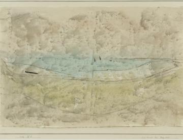 7 Paul Klee, Am Strand bei Beg Meil, 1928