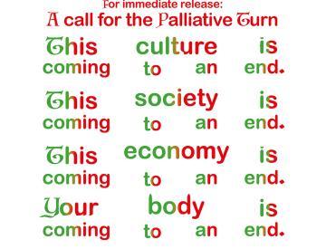 5 Flyer-Material der Association for the Palliative Turn