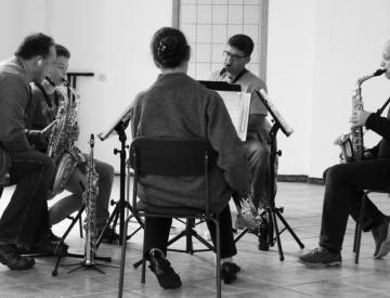 Wittstocker Saxophonquartett im Musikladen