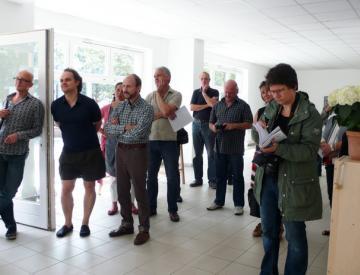 Eröffnung der Götz Schallenberg Ausstellung