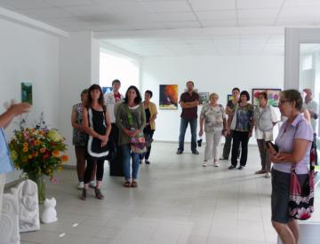 Ausstellungseröffnung im Kunstladen