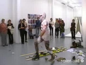 9 Carsten Hensel, Performance Reflexheimat, 2006