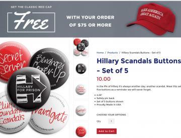 """5 """"Hillary for Prison"""" - ein Wahlkampf der Grenzüberschreitungen"""
