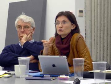 4 François Hers (links), Sophie Claudel (rechts)