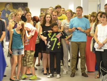 7 Die Abschluss-Gala des Sieben Künste-Projekts in Pritzwalk