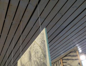 2 Manuel Kirsch: feste - Blick in die Ausstellung
