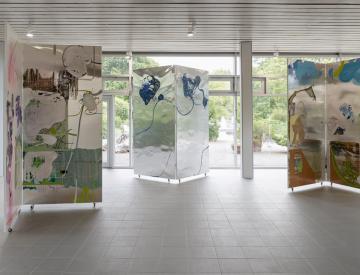 5 Wolfgang Betke: se faire voyant - Ausstellungsansicht