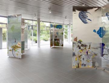 3 Wolfgang Betke: se faire voyant - Ausstellungsansicht