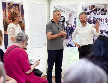 2 Marion Talkowski, Horst Kontak und Gerrit Gohlke beim BKM-Preis Kulturelle Bildung 2017