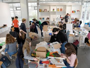 11 Der Ausstellungsraum als Werkstatt