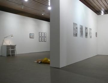 "6 Ausstellungsansicht ""Anonymous"", 14.10.2013"
