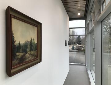 """2 """"Sieben Ausstellungen"""" - Blick in die Ausstellung"""