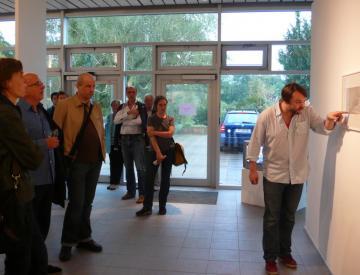 9 Bild und Träger, Eröffnung am 27.8.2011
